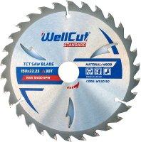 Пильный диск WellCut Standard 150x22мм 30Т (WS30150)