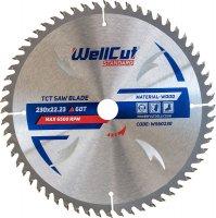 Пильный диск WellCut Standard 230x22мм 60Т (WS60230)
