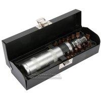 Ударно-поворотна викрутка L=160 мм, комплект 15 од., металевий кейс (YATO, YT-28015)