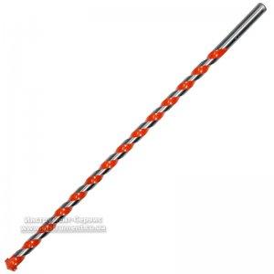 Сверло универсальное Ф 16,0 мм, L=400мм, YG8, HRC 90-92 (YATO, YT-43966)