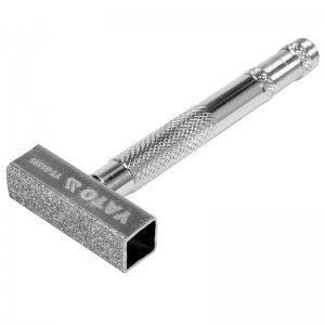 Брусок алмазный для выравнивания абразивных дисков 45,5х13 мм, металлическая ручка (YATO, YT-61395)