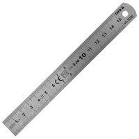 Лінійка металева 150 х 19 мм, нержавіюча сталь (YATO, YT-70720)