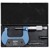 Микрометр гладкий МК-50 0,01 (YATO, YT-72301)