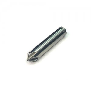 Зенковка твердосплавная монолитная 10,0 мм, двухсторонняя, L=45 мм, угол 90° z=6 К30